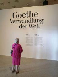 Goethe - Transformation of the World<br>From the late 18th/early 19th century to the present day