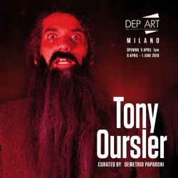 Mostra Tony OURSLER Le Volcan, Poetics Tattoo & UFO